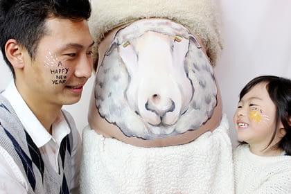 マタニティペイント 大森夏美 作品03